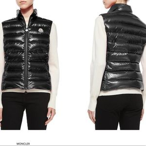 Moncler Ghany Quilted Shiny Vest